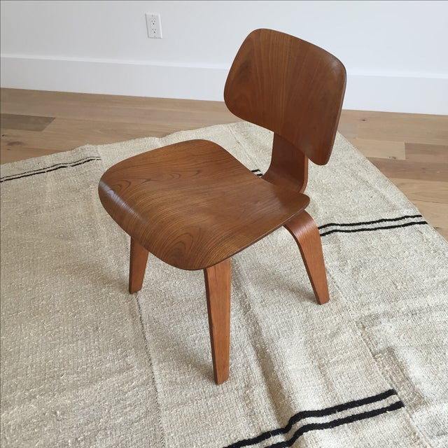 Miraculous Mid Century Eames Style Dcw Wood Dining Chair Pdpeps Interior Chair Design Pdpepsorg