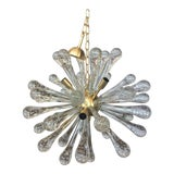 Image of Contemporany Murano Glass Sputnik Chandelier For Sale