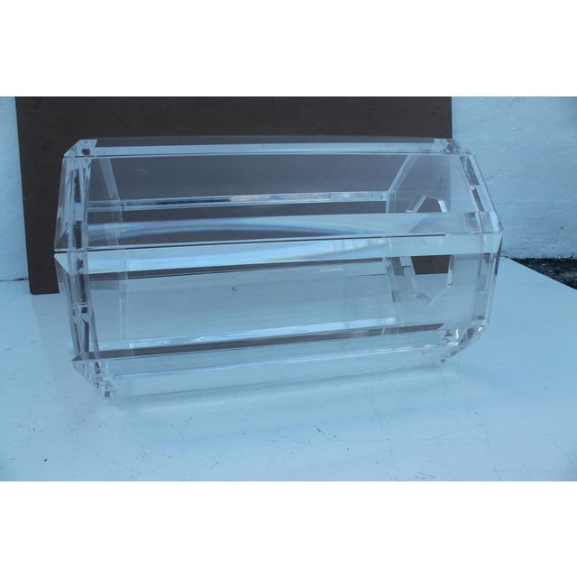 Vintage Lucite Side Table - Image 6 of 10
