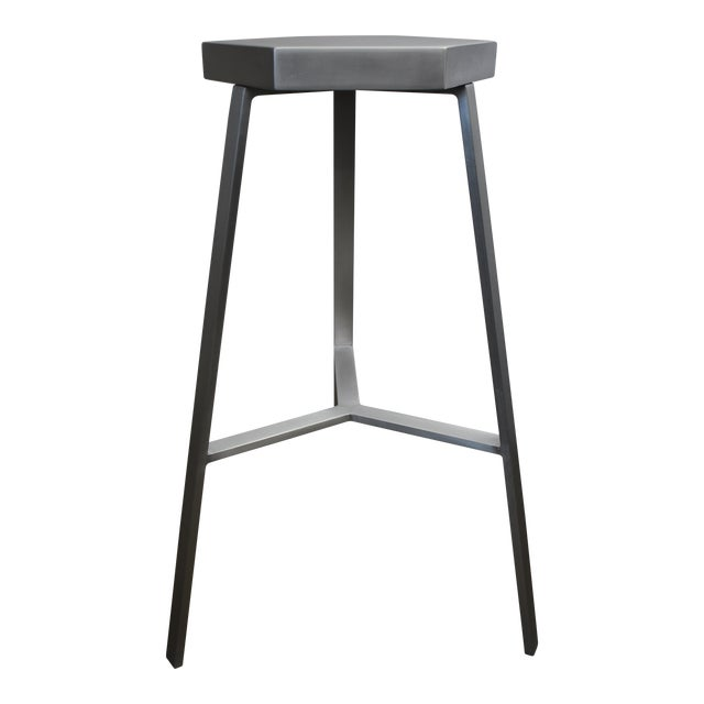 Modern Aluminum Bar Stool For Sale