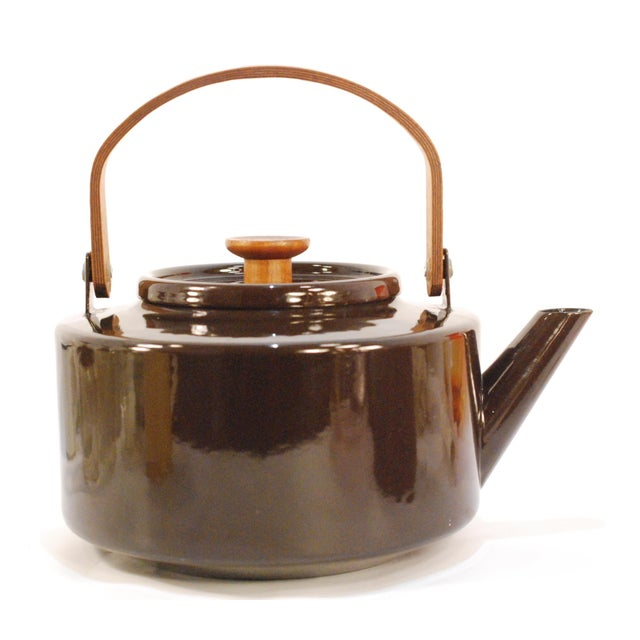 Copco Michael Lax Chocolate Brown #117 Tea Kettle - Image 10 of 11