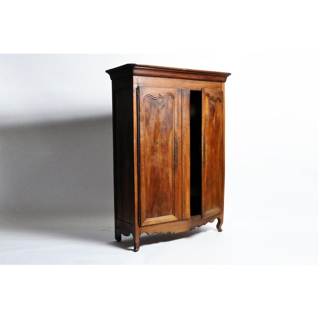 French Walnut Armoire For Sale - Image 10 of 13