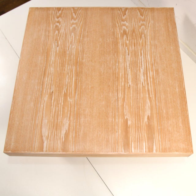 Cerused Coffee Table by Samuel Greg For Sale In New York - Image 6 of 10