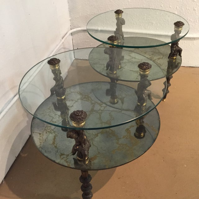 Hollywood Regency Side Tables - A Pair - Image 7 of 7