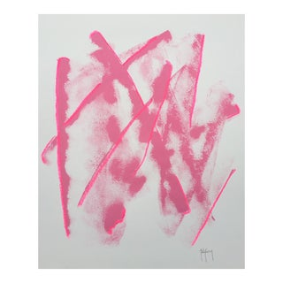 Tony Curry Pink Abstract Modern Painting