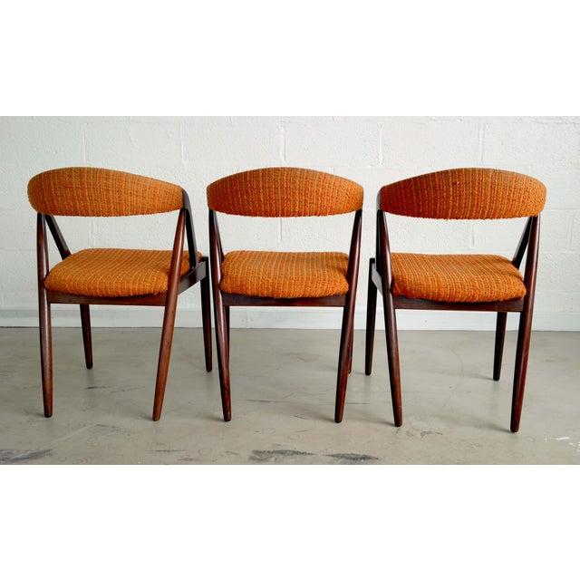 Model31 Kai Kristiansen Rosewood Chairs - Set of 3 - Image 9 of 9