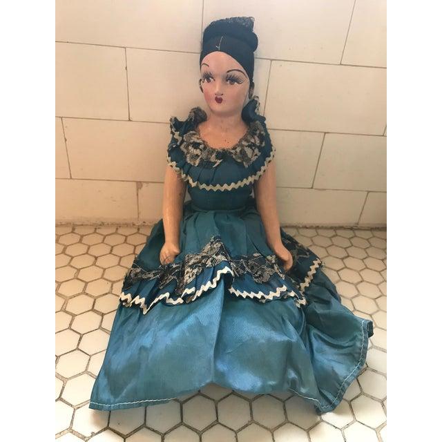 Beautiful 1920s Spanish Señorita Boudoir Doll. Cande made