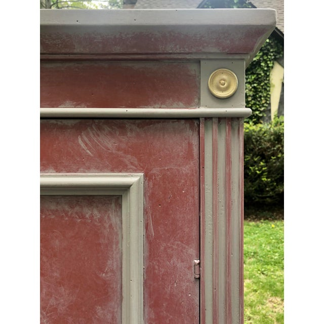 2000 - 2009 British Red Ballard Casa Florentina Armoire For Sale - Image 5 of 9