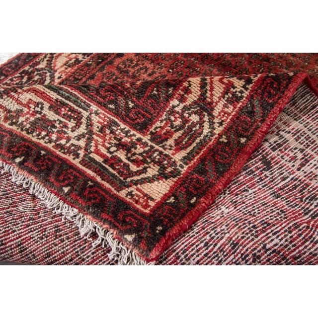 "Apadana - Vintage Persian Hamadan Rug, 2'7"" x 16' - Image 3 of 6"