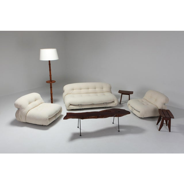 Soriana Two-Seat Sofa by Afra E Tobia Scarpa for Cassina For Sale - Image 10 of 11