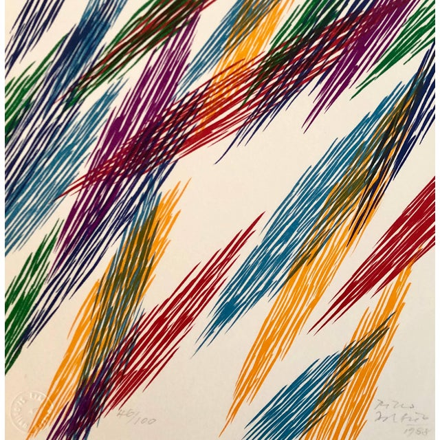 Piero Dorazio Untitled 1988 1988 For Sale