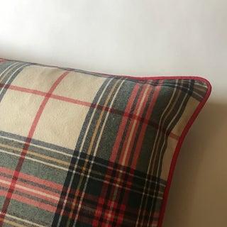 Custom Tartan Plaid Pillow Preview