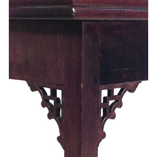 English Georgian Style Mahogany Flip Top Console Table Preview