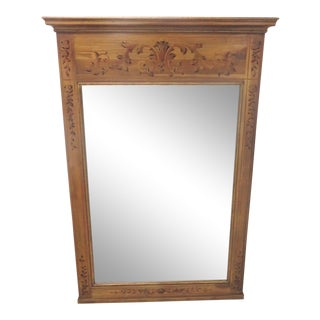 John Widdicomb Paint Decorated Mirror For Sale
