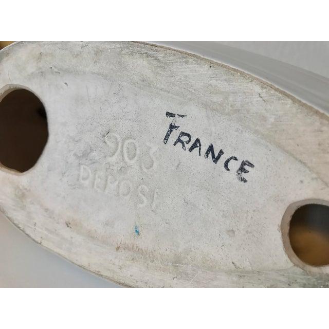 Vintage French Ceramic Sailboat - Image 11 of 11