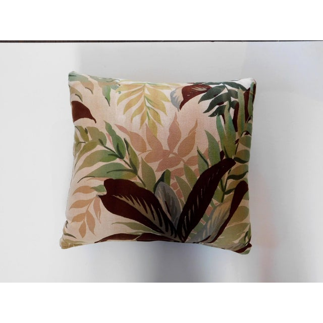 Custom Made Botanical Pillow For Sale In San Francisco - Image 6 of 7
