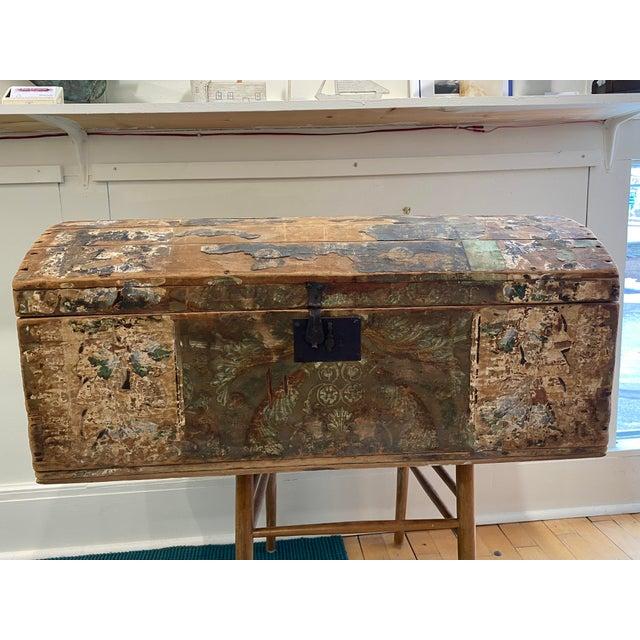 Antique Wallpaper Vendor Trunk For Sale - Image 13 of 13