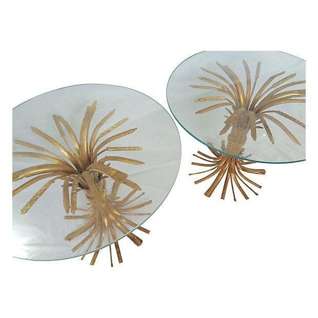 Italian Wheat Sheaf Side Tables - A Pair - Image 3 of 5