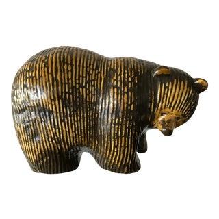 Gustavsberg Lisa Larson Vintage Ceramic Bear For Sale