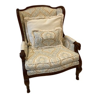 Century Furniture Tan Chair For Sale
