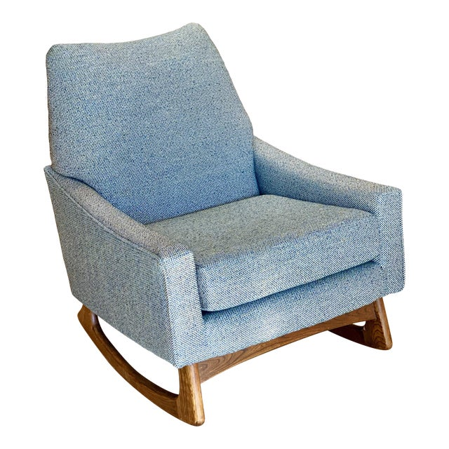 Vintage Mid-Century Adrian Pearsall for Craft Associates Rocking Chair For Sale