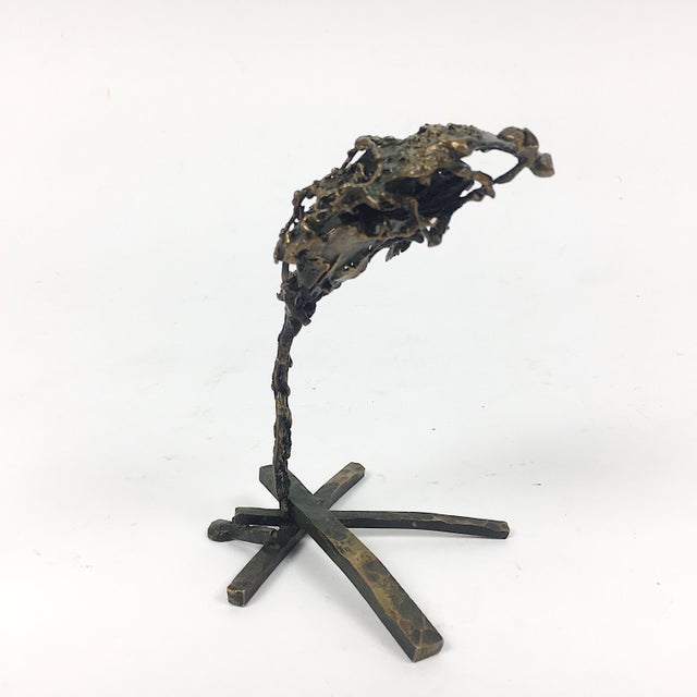 Abstract Ben Kupferman Bronze Abstract Sculpture For Sale - Image 3 of 5