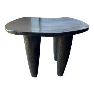 "African Senufo Stool /Table 23"" W"" by 19"" H For Sale"