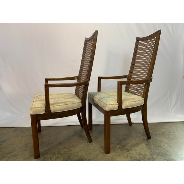Baughman Style Mid-Century Modern American of Martinsville Dining Table and Chairs -- Set of 7 For Sale In Charlotte - Image 6 of 13