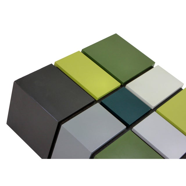 Cubism An Unusual Cubist Occasional Table For Sale - Image 3 of 4