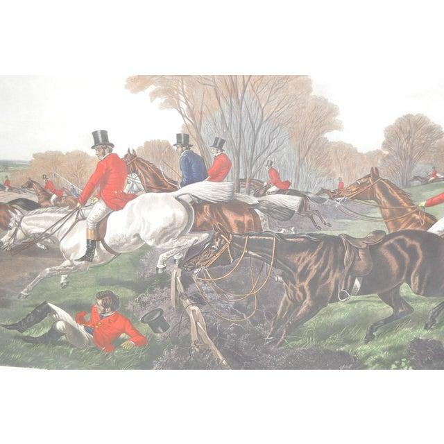 19th Century Fox Hunt Engravings - Set of 4 - Image 8 of 8
