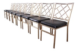 Image of Brass Dining Chairs