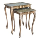 Image of Italian Nesting Tables - A Pair For Sale