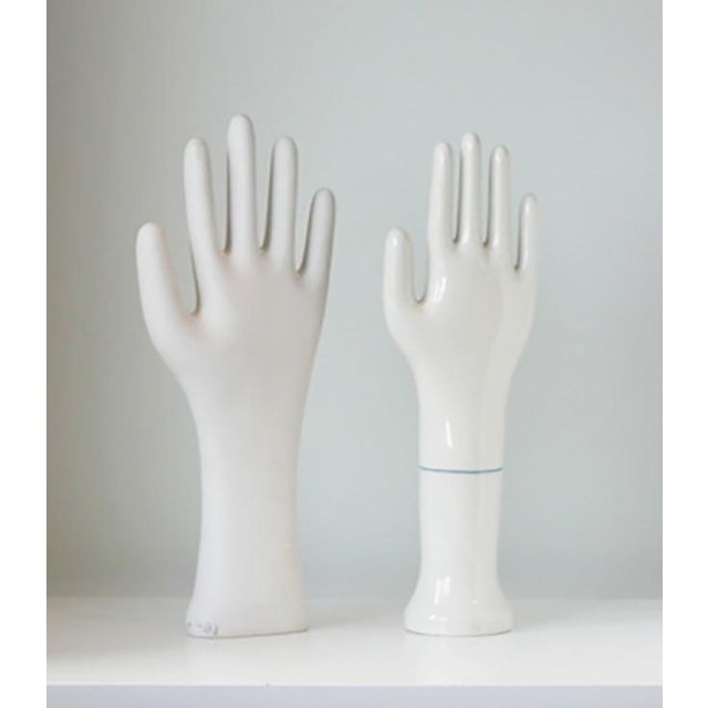 Glove Molds were primarily used for making latex or rubber gloves. They served as forms (glove mold) used to attach to a...
