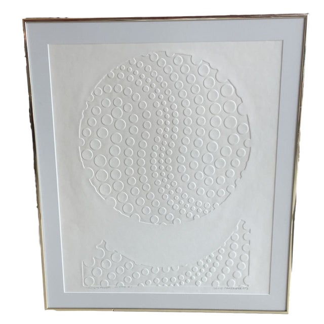 White #1 limited edition work on paper by Canadian sculptor David Partridge. David Garry Partridge (US: 1919— Canada:...