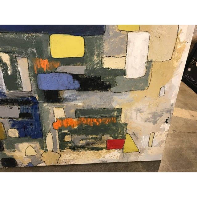Abstract by Noted Palm Springs Artist Jeff King For Sale - Image 4 of 9