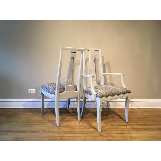 Mid-Century Modern Vintage Dining Chairs- Set of 6 For Sale - Image 3 of 7