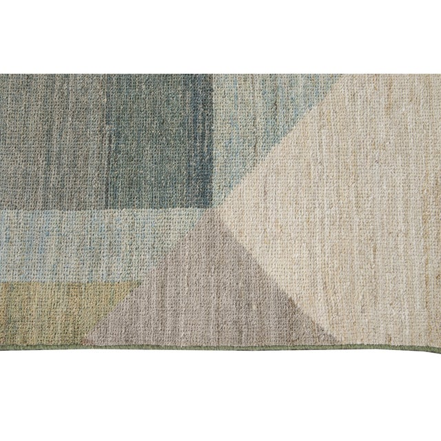 21st Century Modern Deco Wool Rug For Sale - Image 10 of 11
