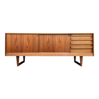 Mid Century Danish Modern Rosewood Credenza Sideboard Kurt Østervig for Kp Møbler - Scandinavian MCM