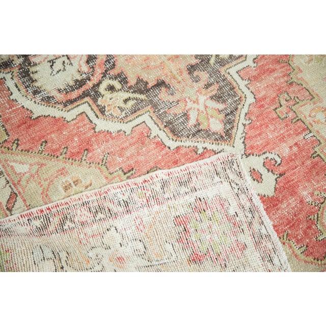 "Vintage Oushak Distressed Carpet - 4'10"" X 8'2"" - Image 5 of 10"