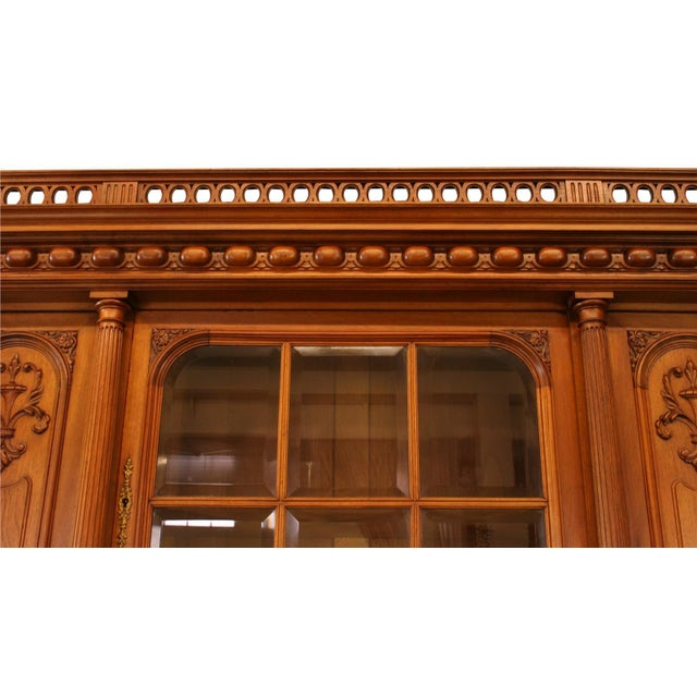 1900 French Renaissance Carved Buffet For Sale In Columbia, SC - Image 6 of 8