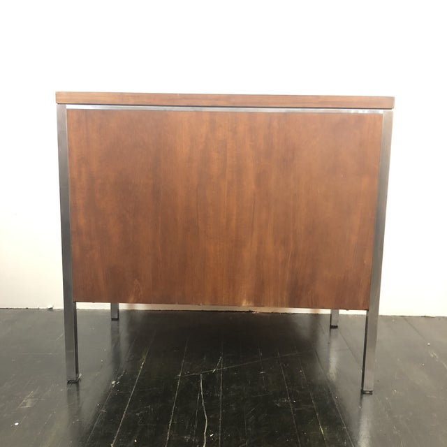 General Fireproofing Co. 1960s Mid Century Modern Walnut File Drawers by the General Fireproofing Co For Sale - Image 4 of 13
