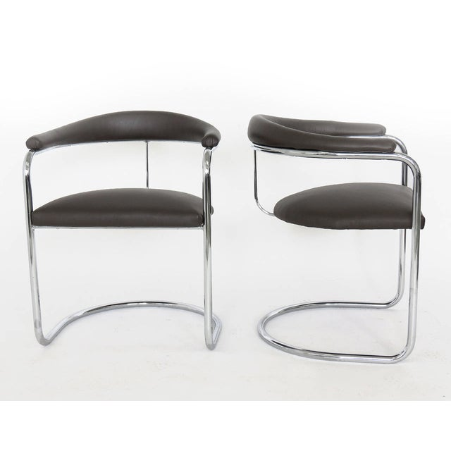 Anton Lorenz Model SS33 Chairs for Thonet - S/4 - Image 3 of 3