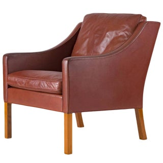Børge Mogensen Lounge Chair For Sale