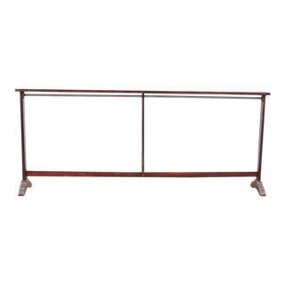 1920s Vintage American School Wood Coat Rack For Sale