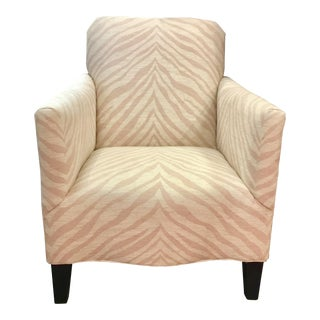Thomasville Beverly Chair Zebra For Sale