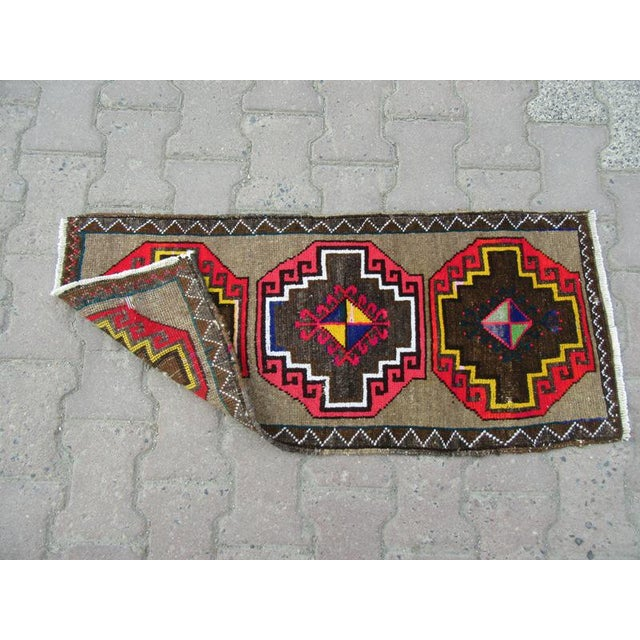 Turkish 1960s Turkish Kars Rug For Sale - Image 3 of 4