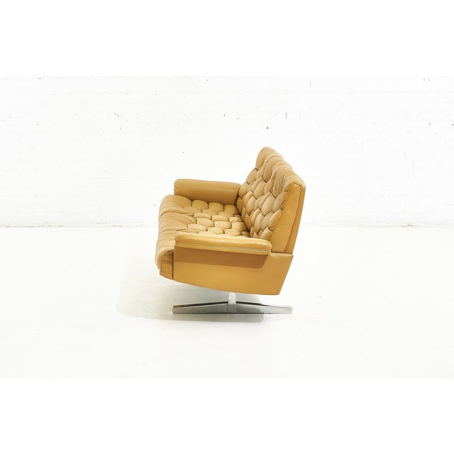 De Sede Leather Ds-P Sofa by Robert Haussmann, Switzerland, 1970 For Sale - Image 4 of 9