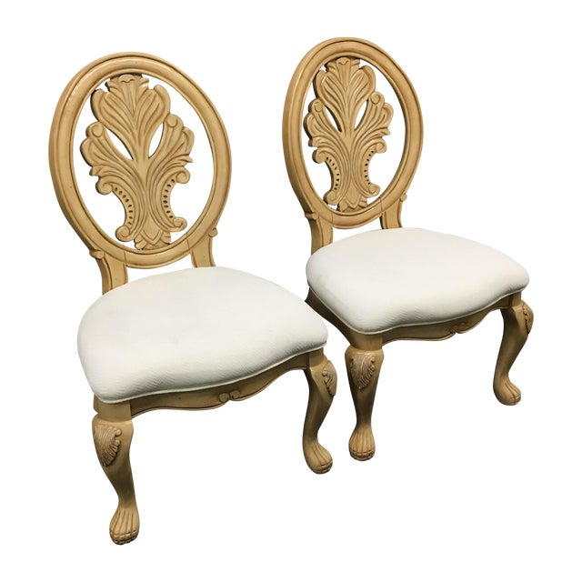 Classical-Style Side Chairs- A Pair - Image 2 of 10