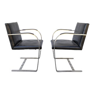 Mies Van Der Rohe Brno Chairs - A Pair For Sale