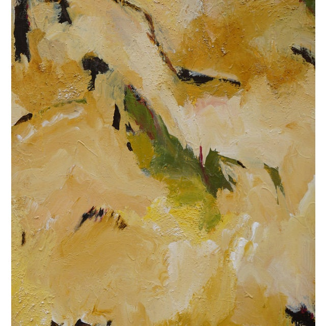 "Laurie MacMillan Laurie MacMillan ""Taking Flight"" Abstract Painting For Sale - Image 4 of 6"